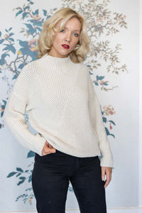 Cream Cotton Summer Jumper