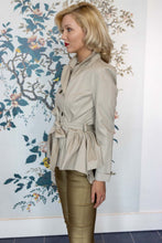 Load image into Gallery viewer, Limestone Double Breasted Designer Trench Jacket
