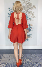 Load image into Gallery viewer, Desert Red Chiffon Playsuit