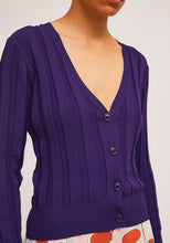 Load image into Gallery viewer, Compania Fañtastica Purple Cardigan
