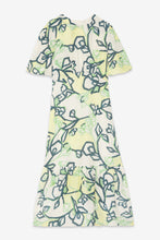 Load image into Gallery viewer, Ottod'ame viscose midi dress with ruffle