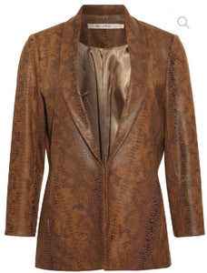 Brown Blazer with lapels