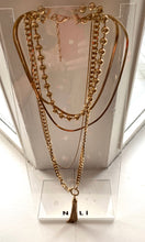 Load image into Gallery viewer, Gold Chain Layered Necklace