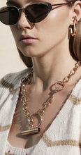 Load image into Gallery viewer, Chunky Gold Chain Link Necklace
