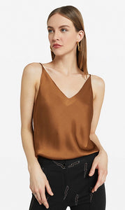 Chocolate Brown Slip Cami Top