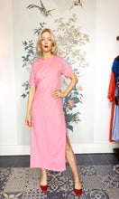 Load image into Gallery viewer, Candy Pink T-Shirt Maxi Dress