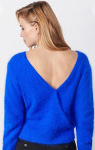 Load image into Gallery viewer, Cobalt Blue Angora Jumper