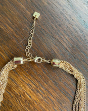 Load image into Gallery viewer, Long Gold Chain Knot Necklace