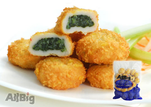 Creamy Spinach Bun (500G) - All Big Frozen Food Pte Ltd