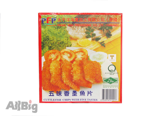 Breaded Cuttlefish Chip (500G) - All Big Frozen Food Pte Ltd