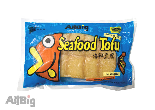 Seafood Tofu (200G) - All Big Frozen Food Pte Ltd