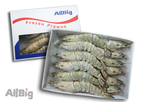 Black Tiger Prawn (1KG) - All Big Frozen Food Pte Ltd