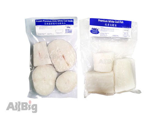 Premium White Cod (500g) - All Big Frozen Food Pte Ltd