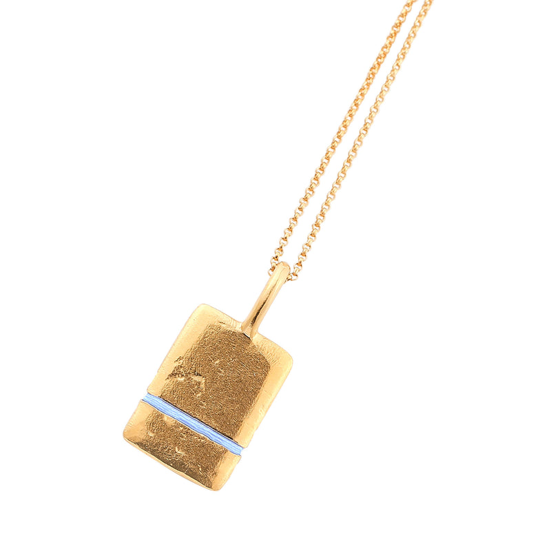 Thousand Fibres Midi True Reflection Necklace Sky