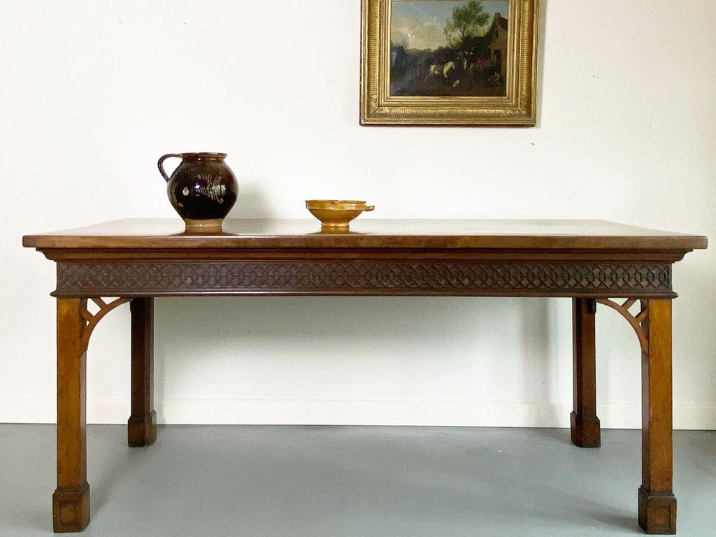 19th Century Irish Chippendale Serving Table