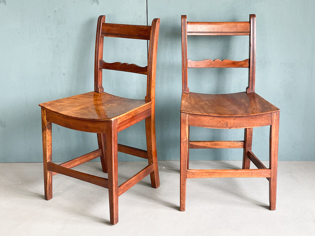 Early 19th Century Fruitwood Chairs
