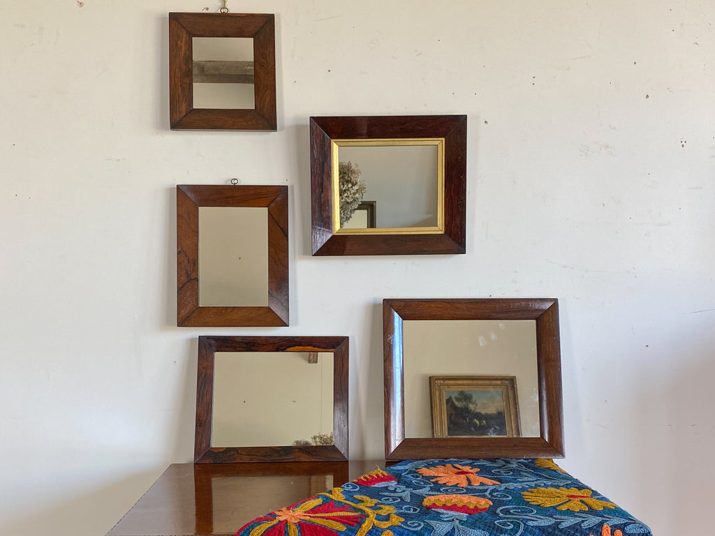 19th Century Rosewood Frame Mirror