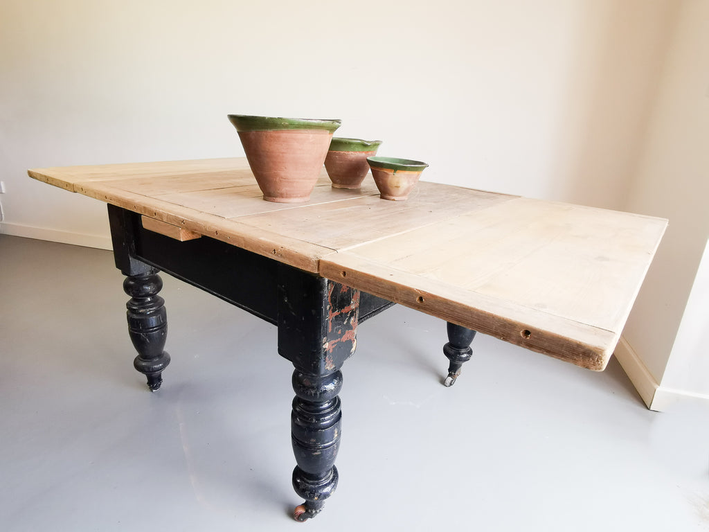 Victorian Scrubbed Pine Top Table