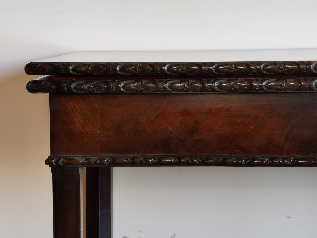 Georgian Mahogany Card Table