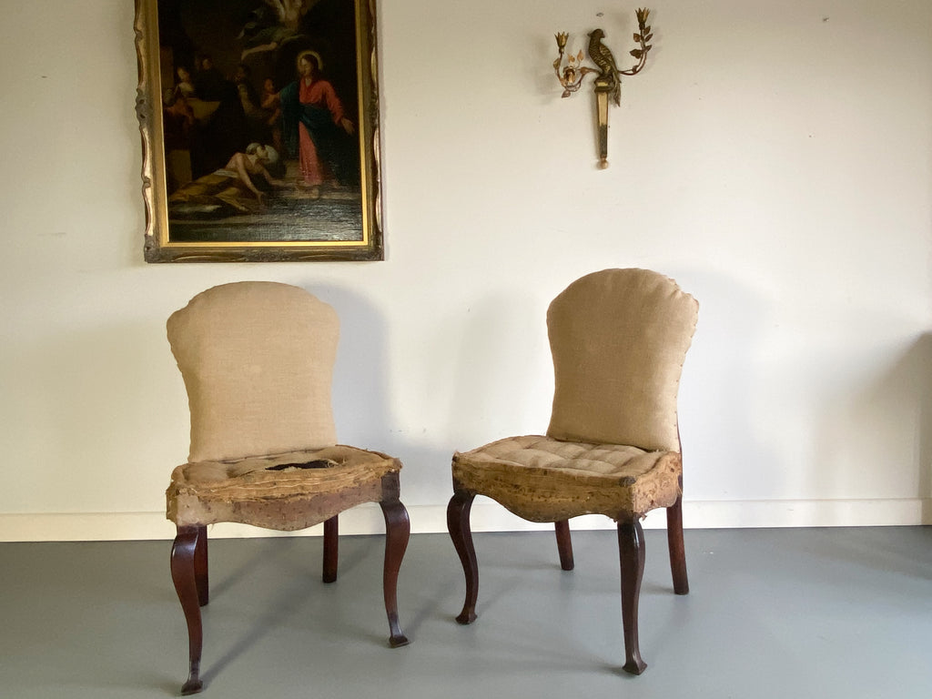 A Pair of 18th Century Side Chairs