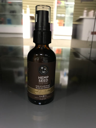 Hemp Seed Hair Styling Elixir