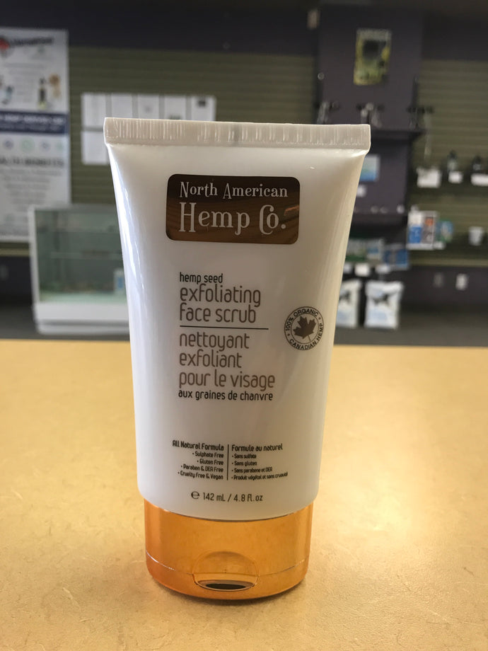 North American Hemp Co. Exfoliating Face Scrub