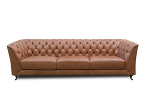 "Sofa Chesterfield VIII Height 30"" Width 101"" Depth 33"""