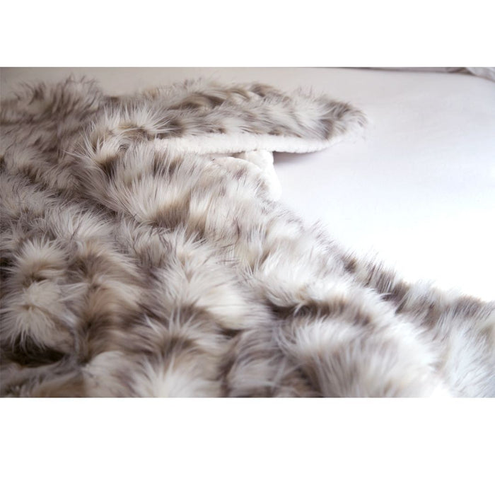 Viking Faux Fur Throw