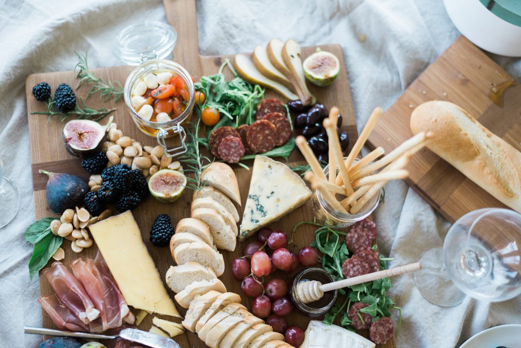 Rectangle Pine Charcuterie Board