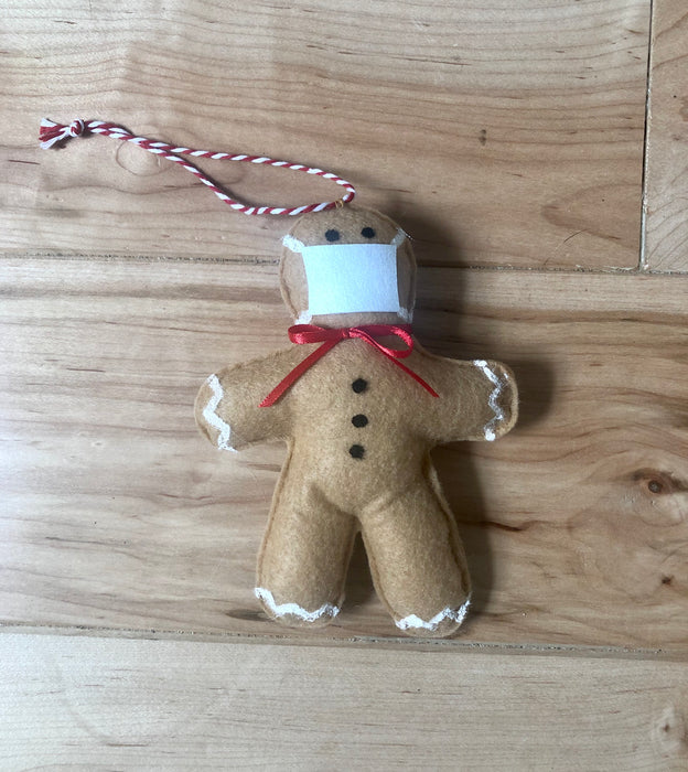 2020 Gingerbread Man Ornament