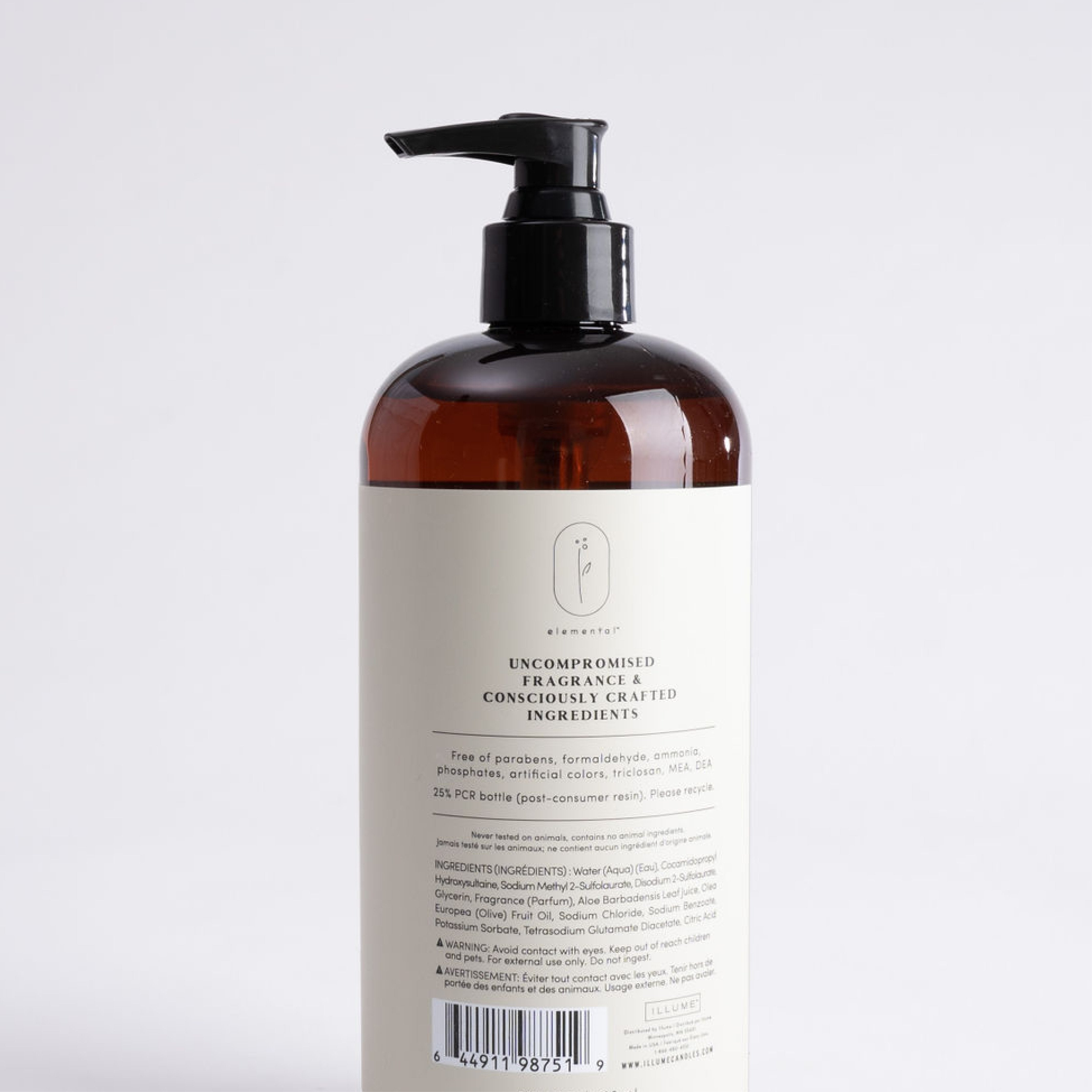 Illume Hand Soap - Vetiver + Sage