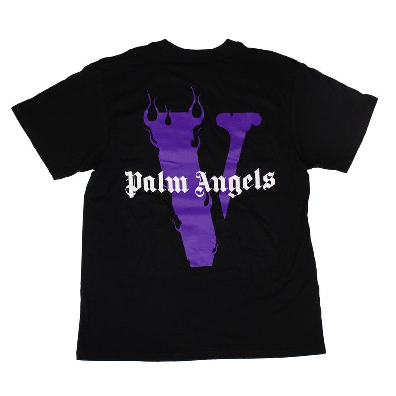 Black/Purple Logo Short Sleeves T-Shirt