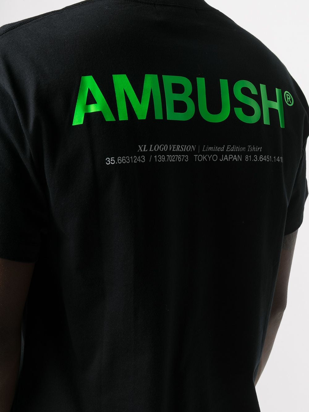 Black and Green XL Logo T-Shirt