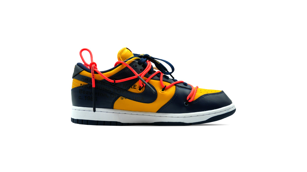 Off-White x Nike SB Dunks Low Michigan