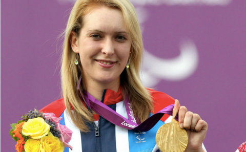 Danielle Brown Double Gold Paralympian