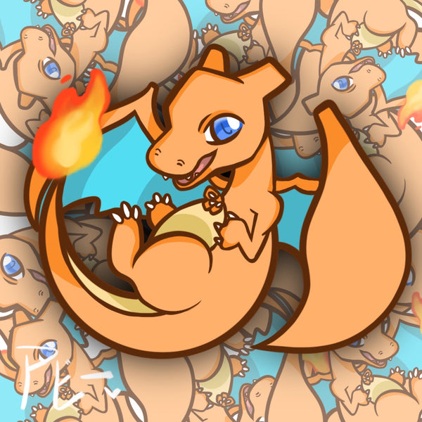 Fire Type Sticker Pack