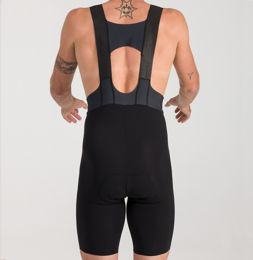 CYCLING BIB SHORTS EXTREME SKIN BLACK