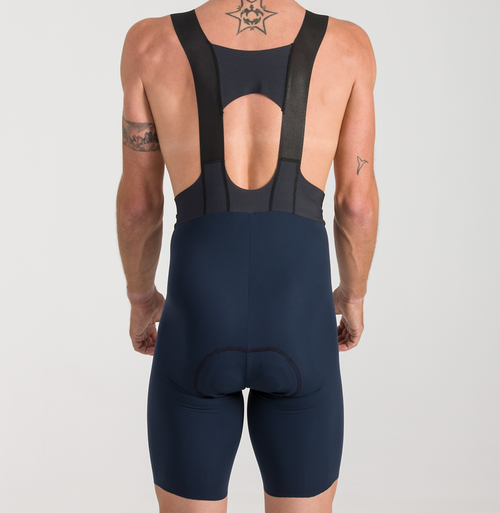 CYCLING BIB SHORTS EXTREME SKIN NAVY