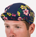 CYCLING HAT FLOWER POWER