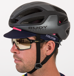 CYCLING HAT SWIPE PINK