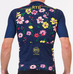 CYCLING JERSEY EXTREME SKIN FLOWER POWER