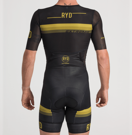 TRISUIT BLACK GOLD STRIPES