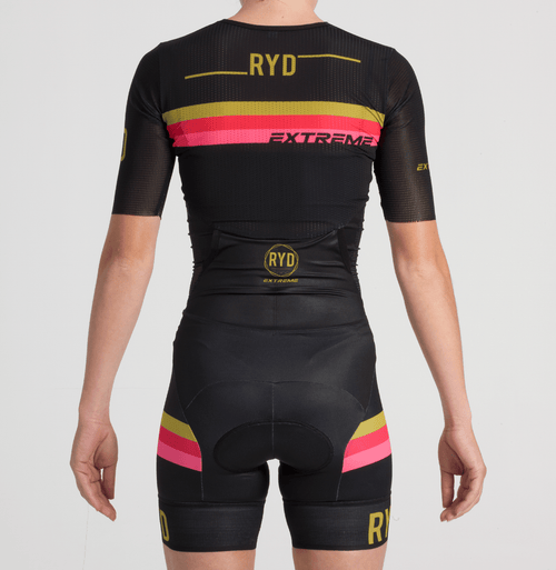 TRISUIT EXTREME PERFORMANCE BLACK GOLD STRIPES