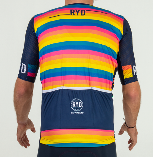 CYCLING JERSEY ZIPLESS RAINBOW