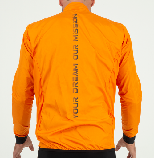 EXTREME WINDBREAKER JACKET - ORANGE