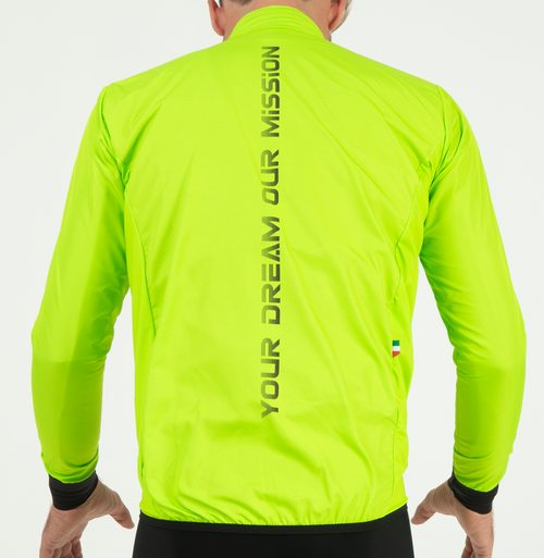 EXTREME WINDBREAKER JACKET - LIME