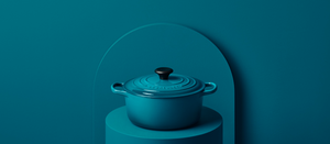 New teal from le creuset