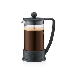 Bodum Brazil French Press Coffee Maker 3-Cup Black
