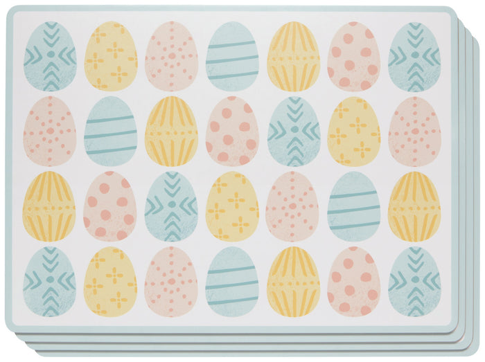 Now Designs Easter Eggs Placemat Set of 4