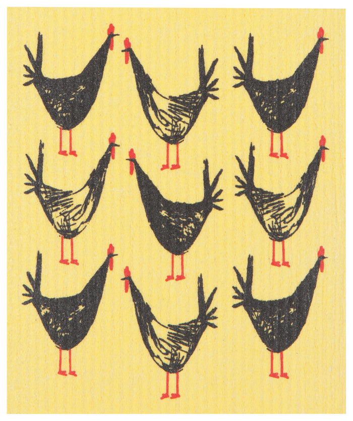 Ecologie Swedish Dishcloth, Chicken Scratch